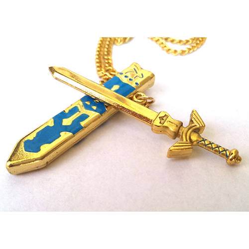 The Legend of Zelda Master Sword Pendant Necklace