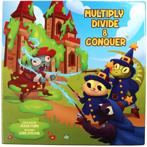 Multiply Divide and Conquer: A Cooperative Multiplication and Division Board Game for Kids