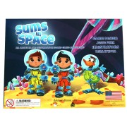 Sums in Space - An Addition and Subtraction Math Board Game for Kids