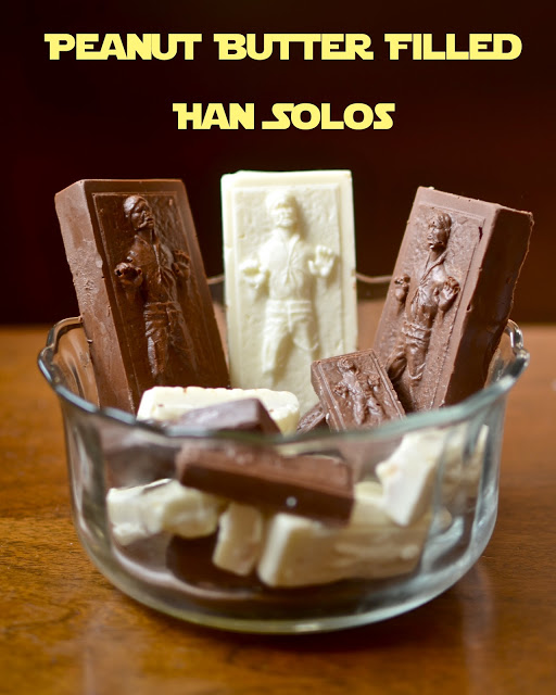 han solo carbonite peanut butter cups